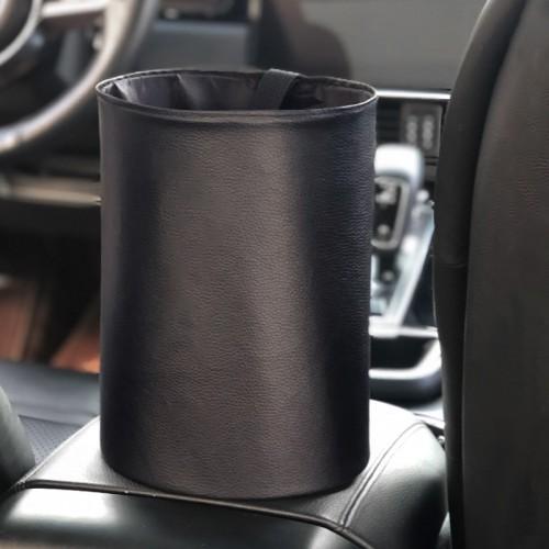 Покупка  Складное мусорное ведро в автомобиль Car folding bucket.Черный в  Интернет-магазин Zelenaya Vorona™