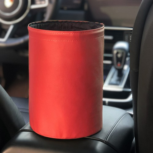 Покупка  Складное мусорное ведро в автомобиль Car folding bucket. Красный в  Интернет-магазин Zelenaya Vorona™