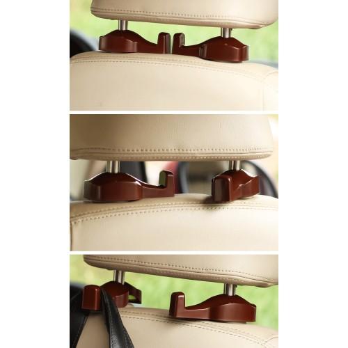 Держатели/крючки для сумок и пакетов в автомобиль Creative Car Hook. Коричневый  в  Интернет-магазин Zelenaya Vorona™ 1
