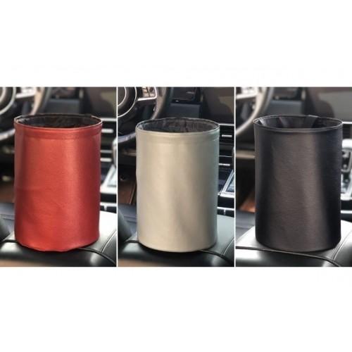 Складное мусорное ведро в автомобиль Car folding bucket. Серый  в  Интернет-магазин Zelenaya Vorona™ 1