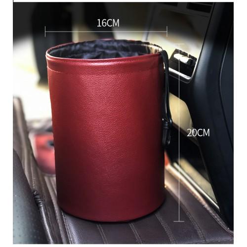 Складное мусорное ведро в автомобиль Car folding bucket. Серый  в  Интернет-магазин Zelenaya Vorona™ 6