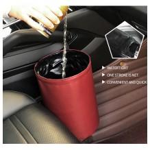 Складное мусорное ведро в автомобиль Car folding bucket. Красный
