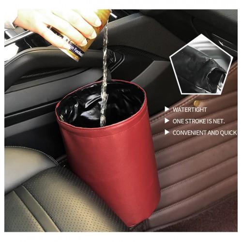 Складное мусорное ведро в автомобиль Car folding bucket. Серый  в  Интернет-магазин Zelenaya Vorona™ 3
