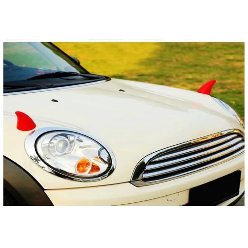 3D наклейка на авто. Рога Дьявола  в  Интернет-магазин Zelenaya Vorona™ 2