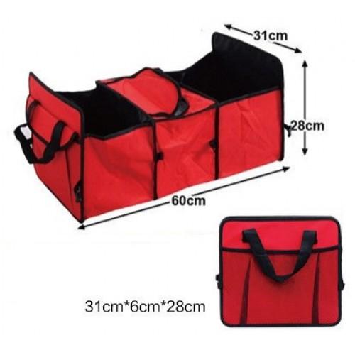 Сумка-органайзер в багажник авто с термоотделением  в  Интернет-магазин Zelenaya Vorona™ 3