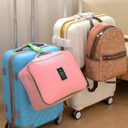 Ремень для крепления сумки к чемодану. Розовый  в  Интернет-магазин Zelenaya Vorona™ 2