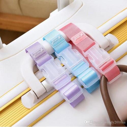 Ремень для крепления сумки к чемодану. Розовый  в  Интернет-магазин Zelenaya Vorona™ 1