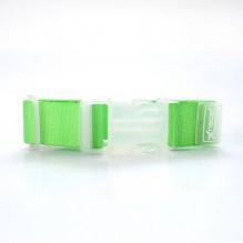 Ремень для крепления сумки к чемодану. Зеленый
