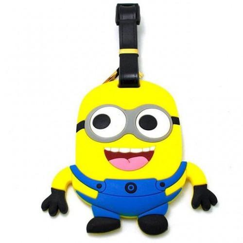Покупка  Бирка для чемодана Желтый миньон в  Интернет-магазин Zelenaya Vorona™