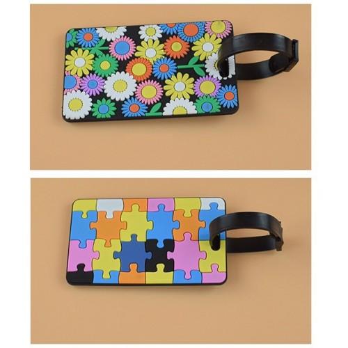 Бирка для чемодана Цветы  в  Интернет-магазин Zelenaya Vorona™ 3
