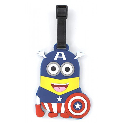 Покупка  Бирка для чемодана Minions-Капитан Америка в  Интернет-магазин Zelenaya Vorona™