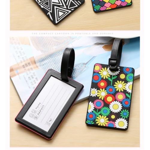 Бирка для чемодана Цветы  в  Интернет-магазин Zelenaya Vorona™ 1