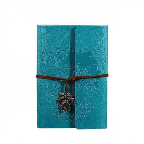 Покупка  Винтажный блокнот Древо жизни. Голубой в  Интернет-магазин Zelenaya Vorona™
