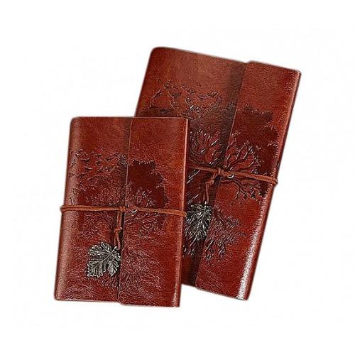 Покупка  Винтажный блокнот Древо жизни. Коричневый в  Интернет-магазин Zelenaya Vorona™
