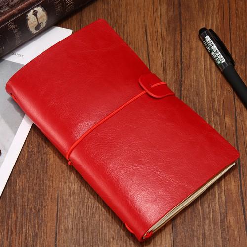 Покупка  Блокнот для записей и заметок Senno. Красный в  Интернет-магазин Zelenaya Vorona™