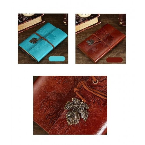 Винтажный блокнот Древо жизни. Голубой  в  Интернет-магазин Zelenaya Vorona™ 2