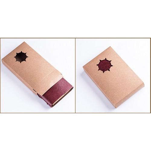 Винтажный блокнот с якорем и штурвалом. Голубой  в  Интернет-магазин Zelenaya Vorona™ 7