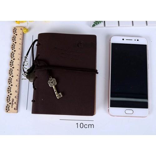 Винтажный блокнот с ключиком  в  Интернет-магазин Zelenaya Vorona™ 2