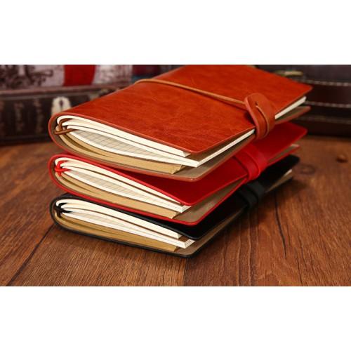 Блокнот для записей и заметок Senno. Красный  в  Интернет-магазин Zelenaya Vorona™ 3