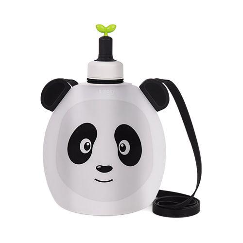 Покупка  Детская складная бутылочка для воды Джумони. Панда в  Интернет-магазин Zelenaya Vorona™