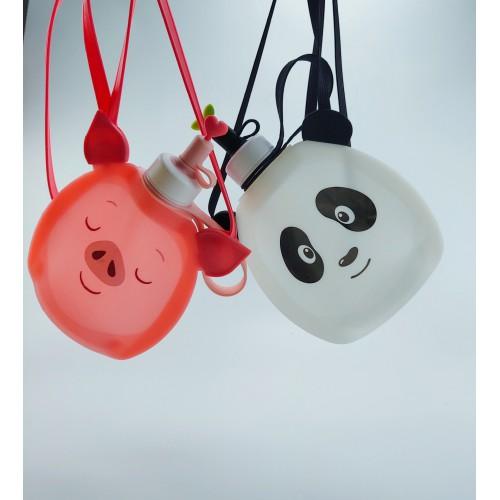 Детская складная бутылочка для воды Джумони. Панда  в  Интернет-магазин Zelenaya Vorona™ 5