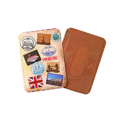 Чехол для ID карты Travel марки  в  Интернет-магазин Zelenaya Vorona™ 1
