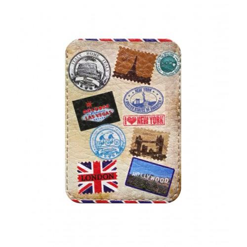 Покупка  Чехол для ID карты Штампы в  Интернет-магазин Zelenaya Vorona™
