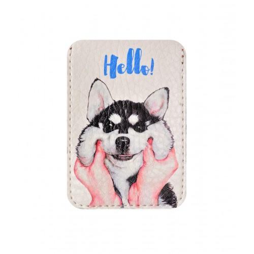 Покупка  Чехол для ID карты Привет в  Интернет-магазин Zelenaya Vorona™