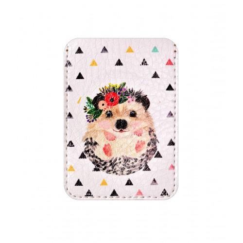 Покупка  Чехол для ID карты Ежик в  Интернет-магазин Zelenaya Vorona™