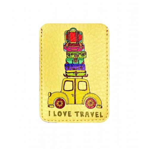 Покупка  Чехол для ID карты Веселый багаж в  Интернет-магазин Zelenaya Vorona™