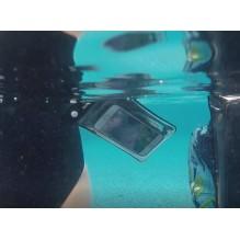 Водонепроницаемый чехол для телефона TravelSky. Прозрачный/черный