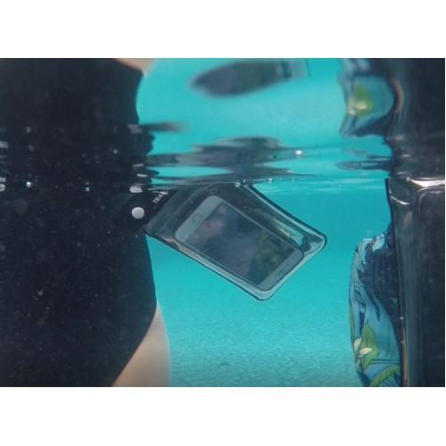 Водонепроницаемый чехол для телефона TravelSky. Прозрачный/черный  в  Интернет-магазин Zelenaya Vorona™ 8