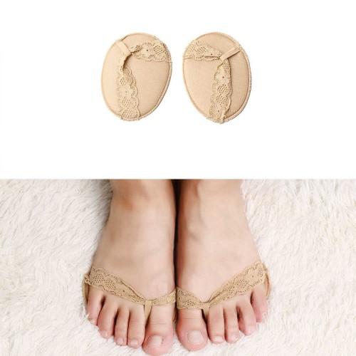 Ажурные нескользящие вкладыши для летней обуви и высоких каблуков. Бежевый  в  Интернет-магазин Zelenaya Vorona™ 1