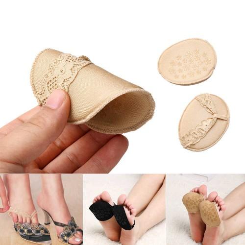 Ажурные нескользящие вкладыши для летней обуви и высоких каблуков. Бежевый  в  Интернет-магазин Zelenaya Vorona™ 2
