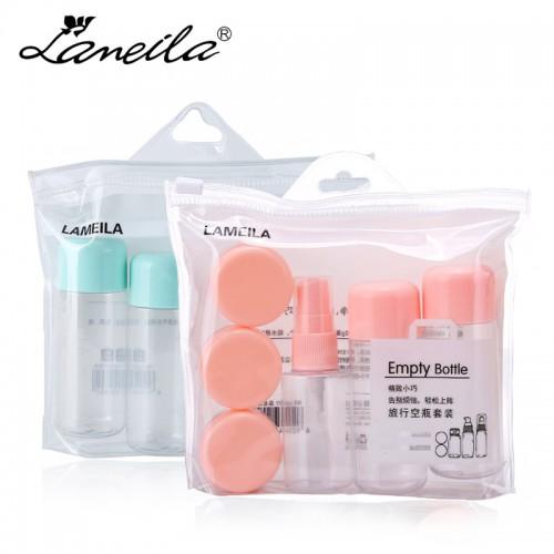 Покупка  Мини-набор емкостей для путешествий Lameila. Розовый в  Интернет-магазин Zelenaya Vorona™