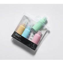 Дорожный набор емкостей для косметики Yuemei Travel Bottles № 1 (100мл/4 шт.)