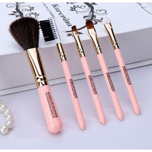 Покупка  Кисти для макияжа Lameila 5 шт/набор. Розовый в  Интернет-магазин Zelenaya Vorona™