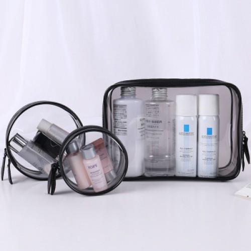 Набор косметичек прозрачных Phintory 3 в 1  в  Интернет-магазин Zelenaya Vorona™ 1