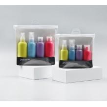 Дорожный набор емкостей для косметики Yuemei Travel Bottles № 2 (100мл/4 шт.)
