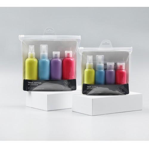 Дорожный набор емкостей для косметики Yuemei Travel Bottles № 2 (100мл/4 шт.)  в  Интернет-магазин Zelenaya Vorona™ 3