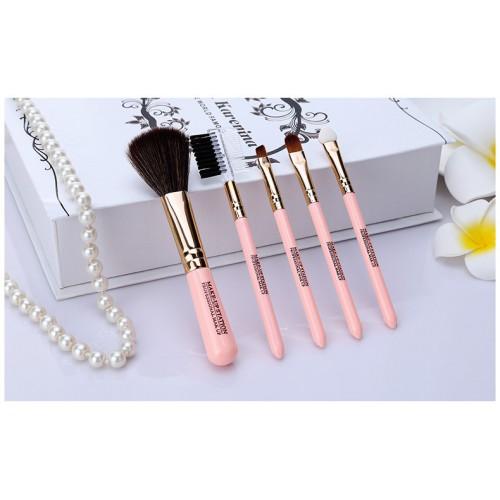 Кисти для макияжа Lameila 5 шт/набор. Розовый  в  Интернет-магазин Zelenaya Vorona™ 3