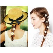 Набор резинок и заколок для волос Ромашки