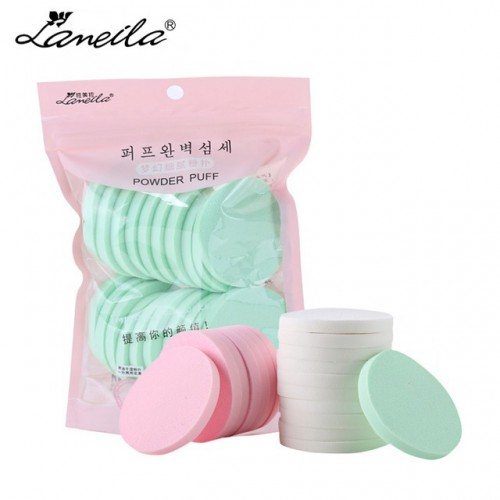 Покупка  Набор спонжей для макияжа Lameila 20 шт. в  Интернет-магазин Zelenaya Vorona™