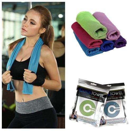 Покупка  Охлаждающее полотенце для спорта и пляжа Cool Towel в  Интернет-магазин Zelenaya Vorona™