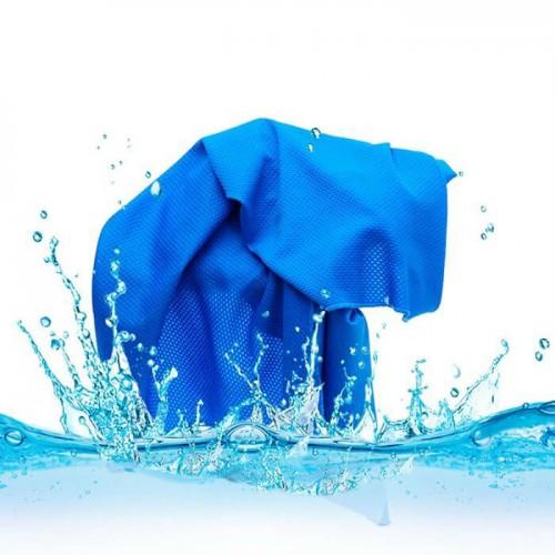 Охлаждающее полотенце для спорта и пляжа Cool Towel  в  Интернет-магазин Zelenaya Vorona™ 1
