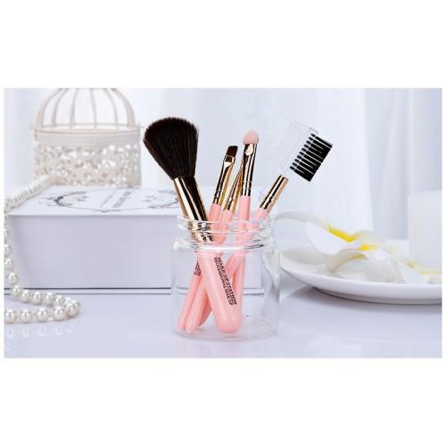 Кисти для макияжа Lameila 5 шт/набор. Розовый  в  Интернет-магазин Zelenaya Vorona™ 2