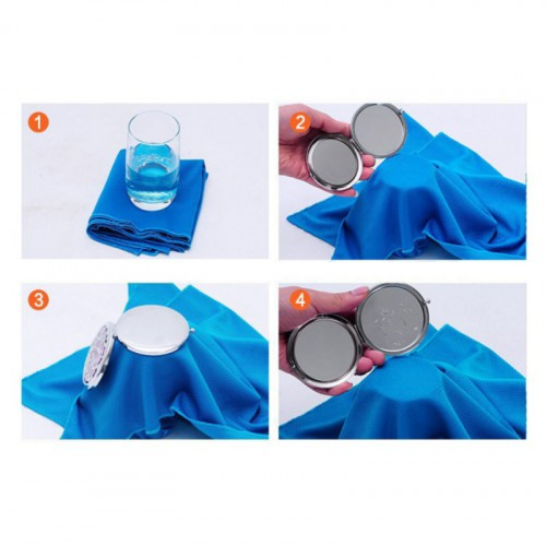 Охлаждающее полотенце для спорта и пляжа Cool Towel  в  Интернет-магазин Zelenaya Vorona™ 2