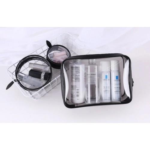 Набор косметичек прозрачных Phintory 3 в 1  в  Интернет-магазин Zelenaya Vorona™ 2