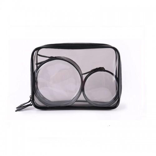Набор косметичек прозрачных Phintory 3 в 1  в  Интернет-магазин Zelenaya Vorona™ 5