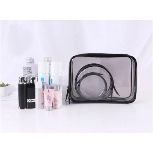 Набор косметичек прозрачных Phintory 3 в 1  в  Интернет-магазин Zelenaya Vorona™ 4